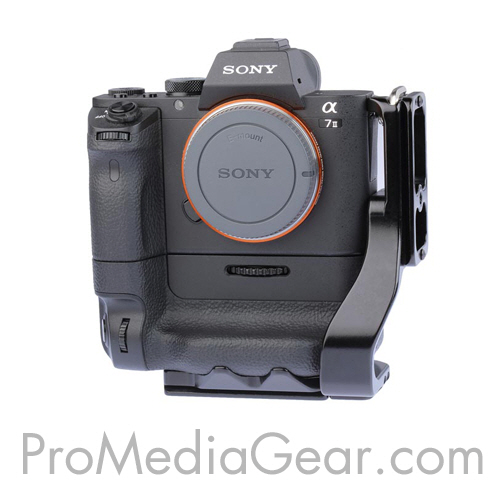 Sony Alpha a7 a7R mark II Series L-Bracket for VG-C2EM Battery Grip/카메라/소니/알파/엘/브라켓/플레이트