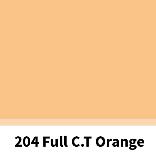 리필터 LR 204 FULL CT ORANGE (CTO) 3200K (60x60cm)